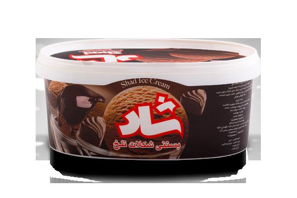 بستنی شکلات تلخ